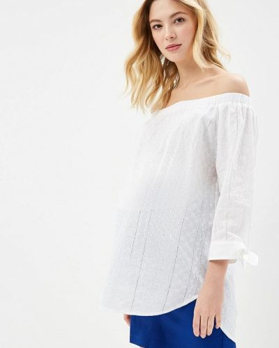 Белая блузка Mammysize