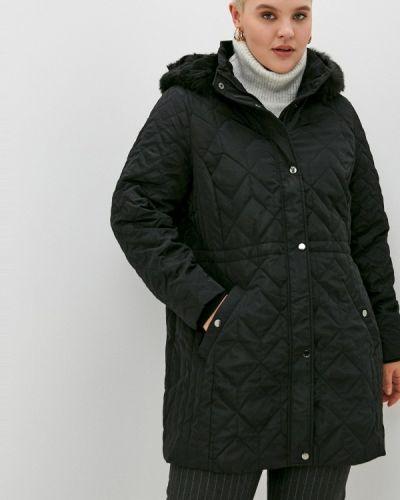 Теплая черная куртка Evans