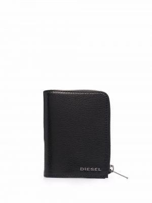 Черный кошелек металлический Diesel