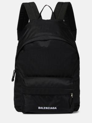 Czarny plecak Balenciaga