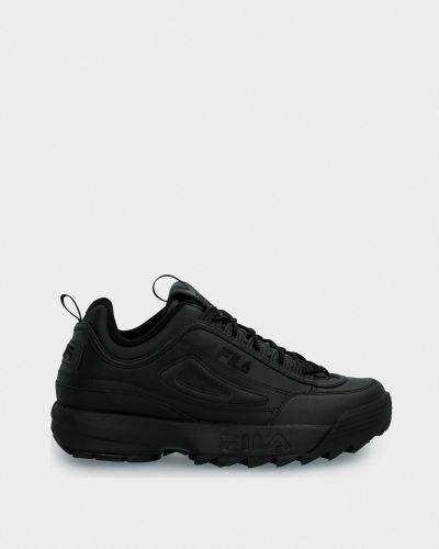 Кожаные кроссовки с подкладкой Fila