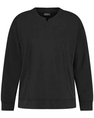 Czarna bluza kangurka Samoon