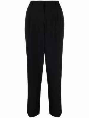 Czarne spodnie z paskiem Blanca Vita