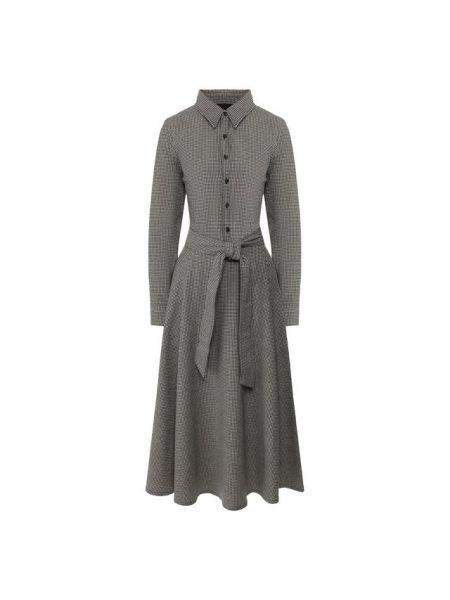 Платье шерстяное платье-поло Polo Ralph Lauren