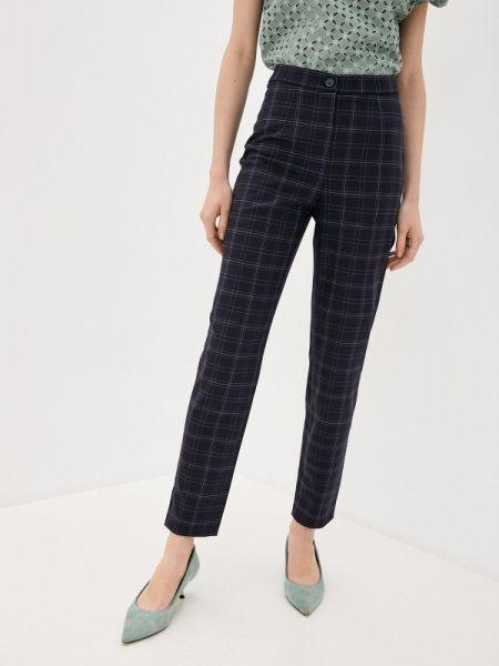 Классические синие классические брюки Antiga