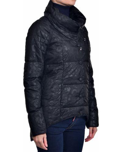 Черная куртка осенняя Trussardi Jeans