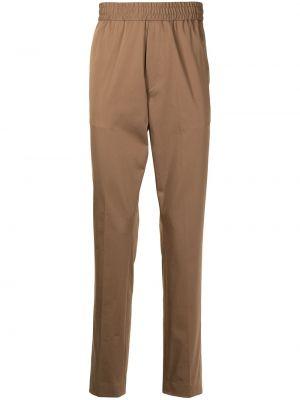 Коричневые хлопковые брюки Paul Smith
