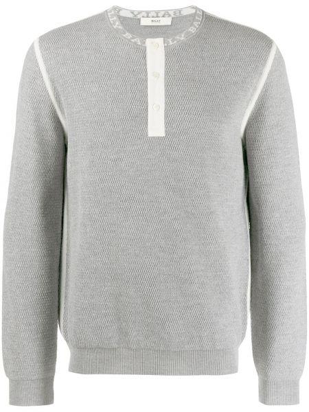 Sweter na wysokości długo Bally