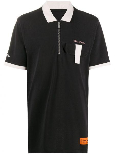 Koszula z logo prosto Heron Preston