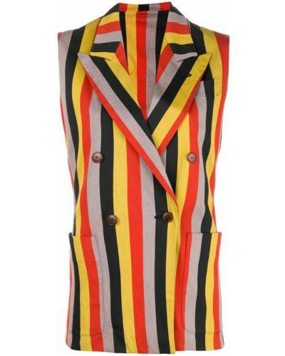 Жилетка прямая с карманами Jean Paul Gaultier Pre-owned