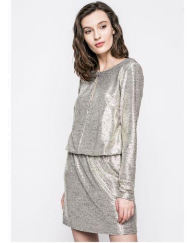 Платье мини прямое с заниженной талией Answear
