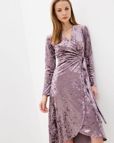Фиолетовое платье с запахом Imocean
