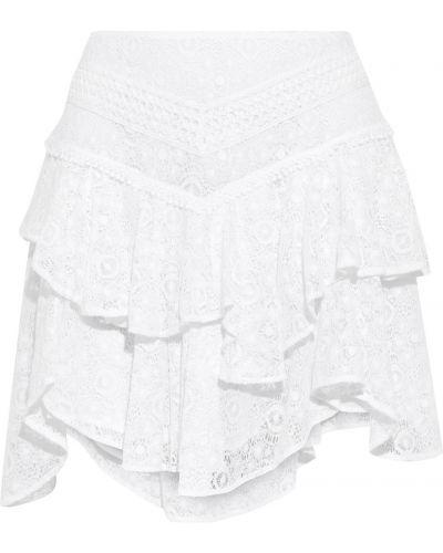 Biała spódnica koronkowa Iro