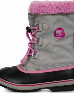 Ботинки мембранные серые Sorel
