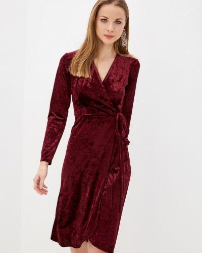 Красное платье с запахом Imocean