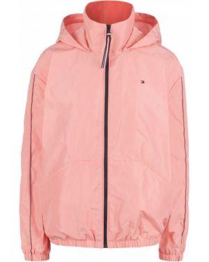Розовая ветровка с капюшоном Tommy Hilfiger