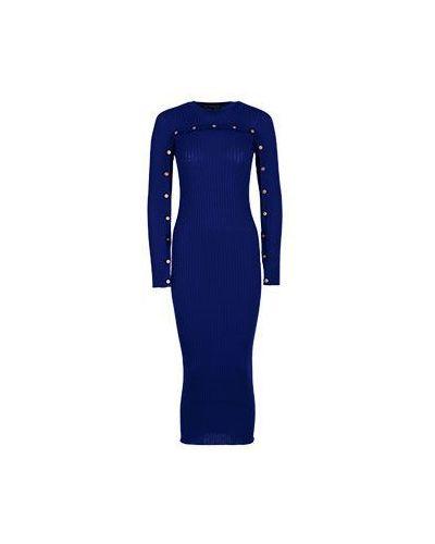 Деловое платье фиолетовый Versace