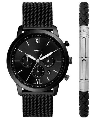 Zegarek - czarny Fossil