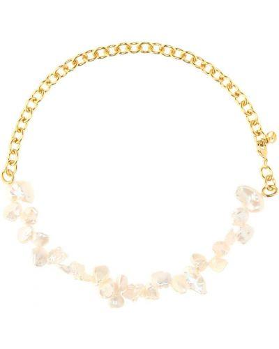 Классическое желтое ожерелье с жемчугом Anissa Kermiche