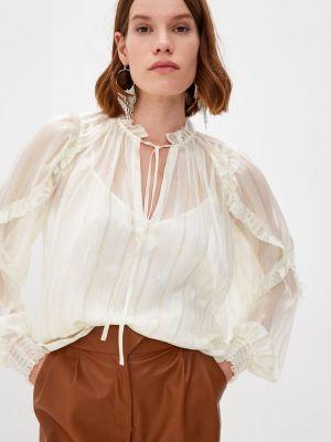 Белая блузка осенняя Twinset Milano