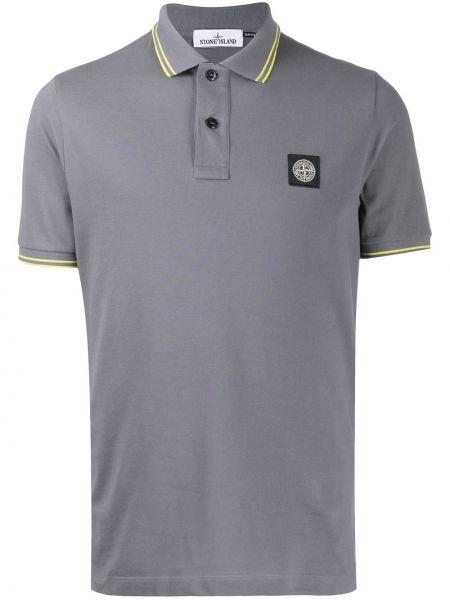 Koszula krótkie z krótkim rękawem klasyczna z paskami Stone Island