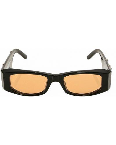 Pomarańczowe okulary Palm Angels