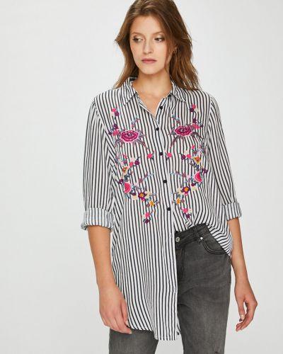 Блузка с длинным рукавом в полоску из вискозы Broadway
