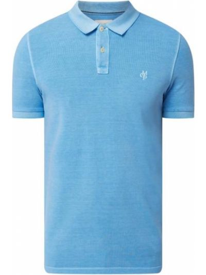 T-shirt bawełniana - turkusowa Marc O'polo