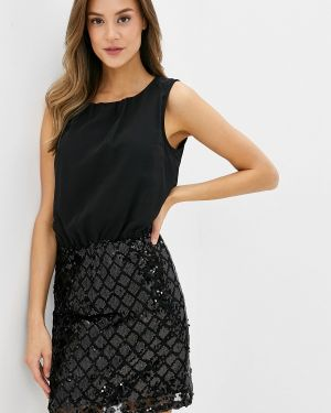 Вечернее платье осеннее черное Jacqueline De Yong