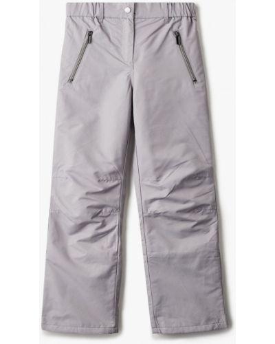 Серые утепленные брюки Acoola