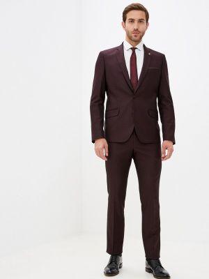 Костюмный красный костюм классический Royalspirit
