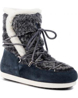 Wysoki buty zamszowe Moon Boot