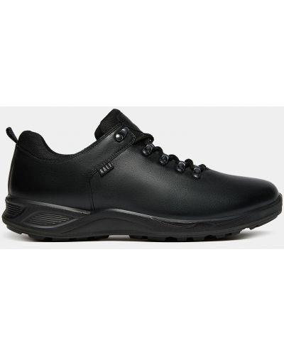 Черные кожаные полуботинки Ralf Ringer
