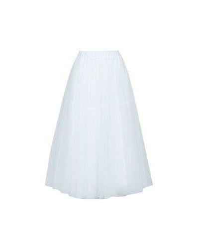 Белая юбка миди P.a.r.o.s.h.