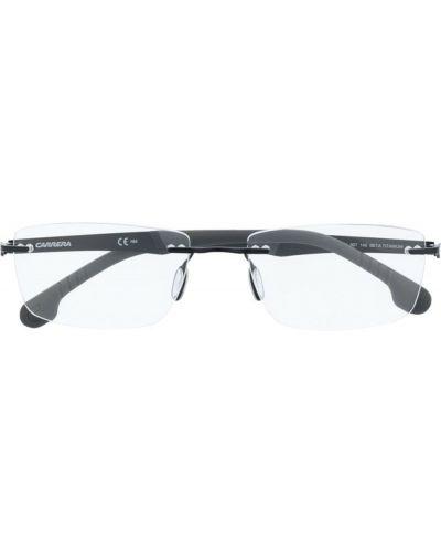 Czarne okulary Carrera