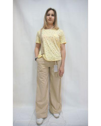 Бежевые брюки Ltb