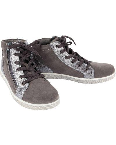 Ботинки серые Imac