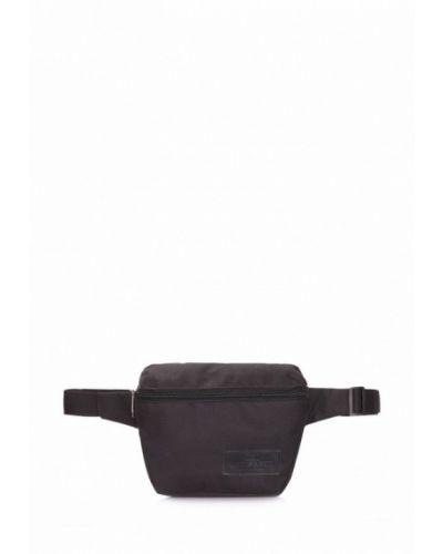 Черная поясная сумка Poolparty