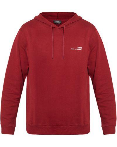 Czerwona bluza A.p.c.