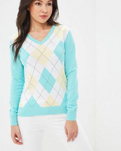 Пуловер бирюзовый Baon