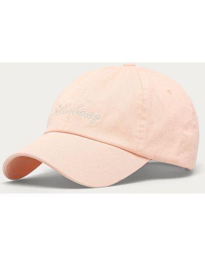 Różowy kapelusz materiałowy Billabong