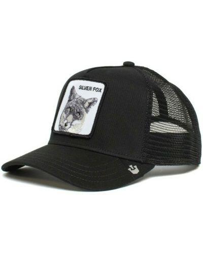 Czarna czapka z daszkiem Goorin Bros