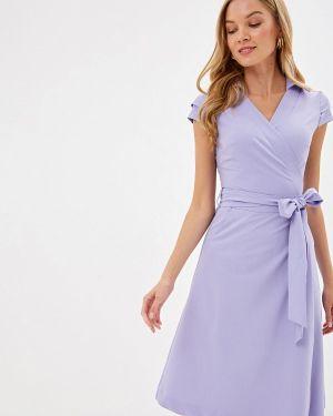 Платье прямое фиолетовый Bezko