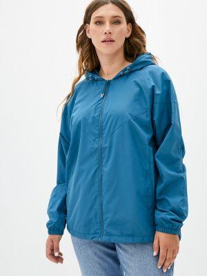 Облегченная бирюзовая куртка Zizzi