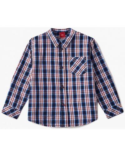 Синяя рубашка S.oliver