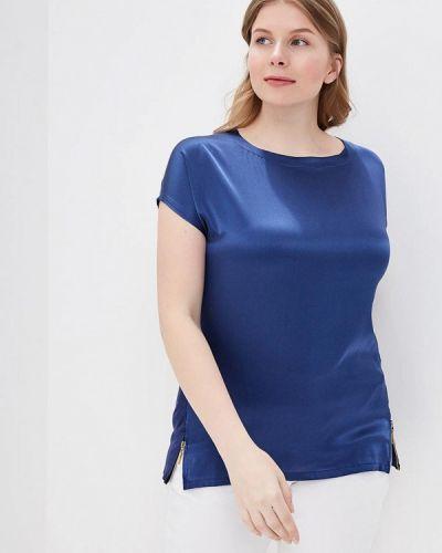 Блузка синяя Rodier