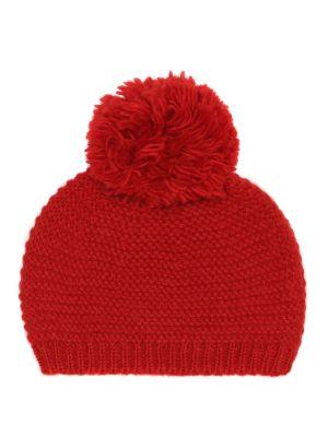 Ciepła czapka wełniana Bonpoint