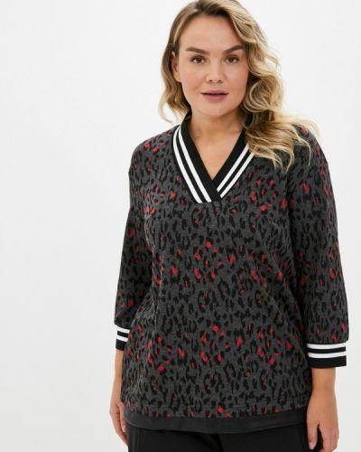 Серый пуловер Intikoma