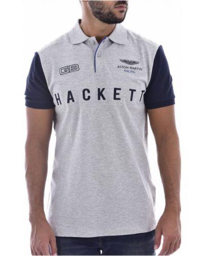 Szara koszulka Hackett