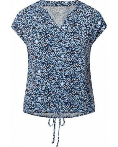 Niebieska bluzka z wiskozy Christian Berg Women